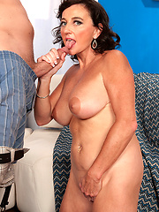 Mature Ciara gets a cream pie