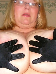 British BBW mama with monstrous tits
