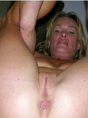 Amateur 36 Year Old Soccer Mom Spreads Apart Pussy And Asshole
