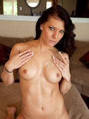 Amazing MILF takes off her clothes
