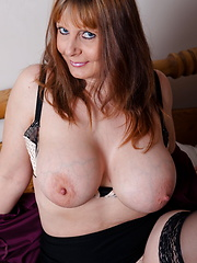 Mature lady with big boobs