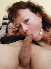 This naughty mature slut loves to fuck and suck