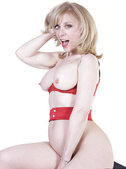 Nina Hartley teases and pleases Lya Pink