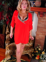 Naughty American housewife getting very naughty